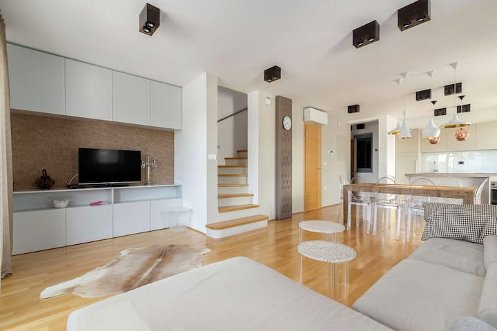 Villa Recica North - Living area