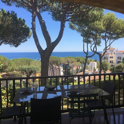 Appartement familial vue sur mer à Calella. - Palafrugell - Apartment