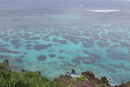 [Sea View シービューNo.6]宮古ブルーの海を個室から眺める セルフゲストハウス - Miyakojima-shi - Departamento