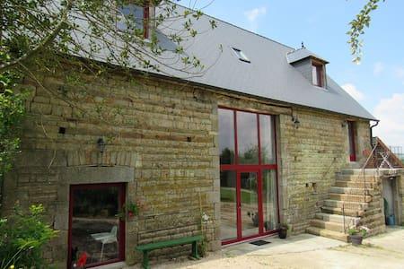 la Grange du Meslier à Sourdeval, gîte de charme - Casa