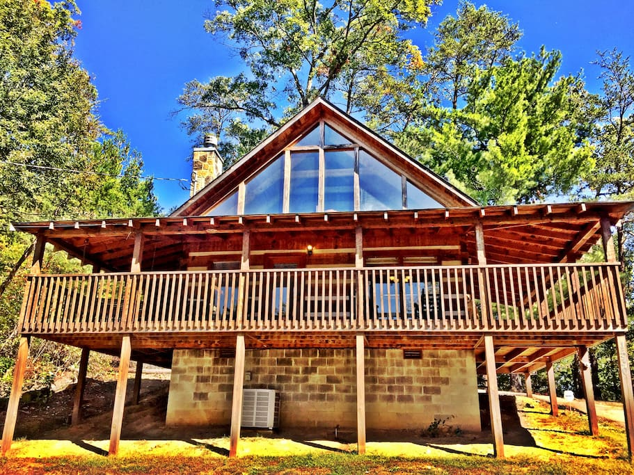 Private view cabin near pigeon forge gsmnp hot tub for Private secluded cabins in pigeon forge