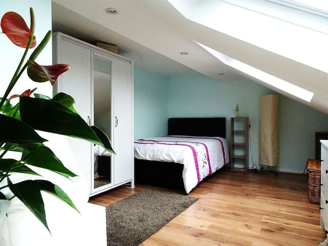 Spacious  bedroom 9 minutes from Finchley Station