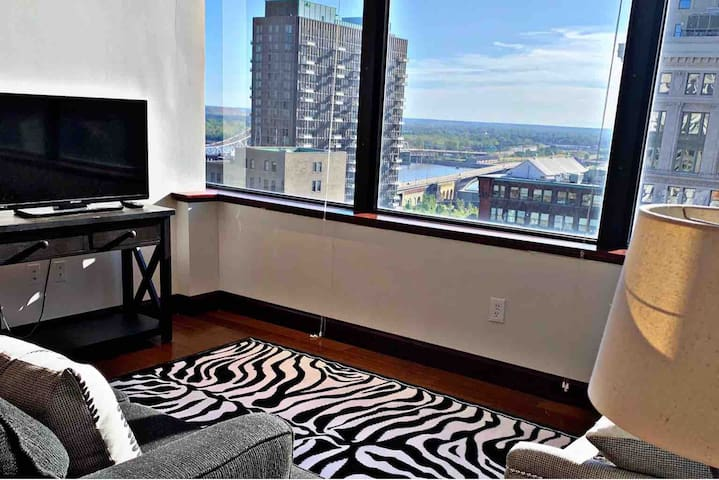 Luxury living & Steps away from the Arch!