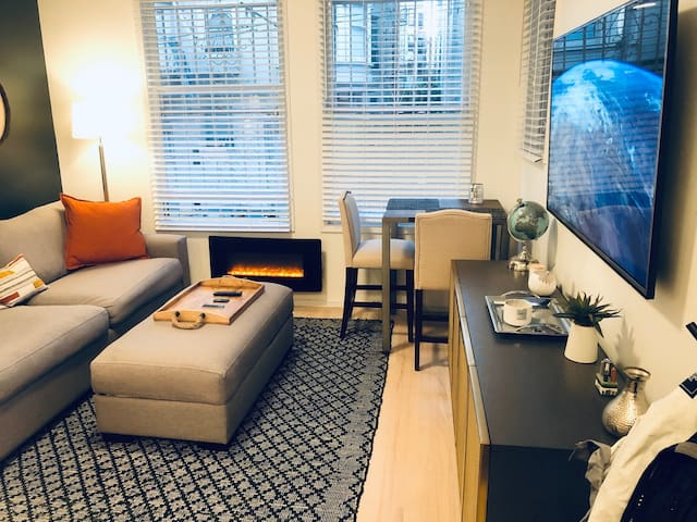 Modern, Spacious, Central Nob/Russian Hill 1BR Apt