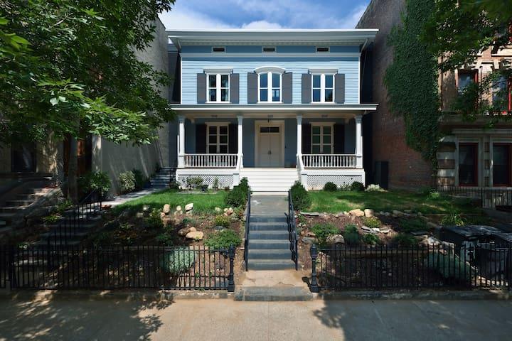 The Elkins House – Truly Rare, Historic 5BR 3 Bath
