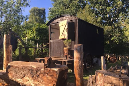 The Shepherds Hut at Hills Corner, New Forest
