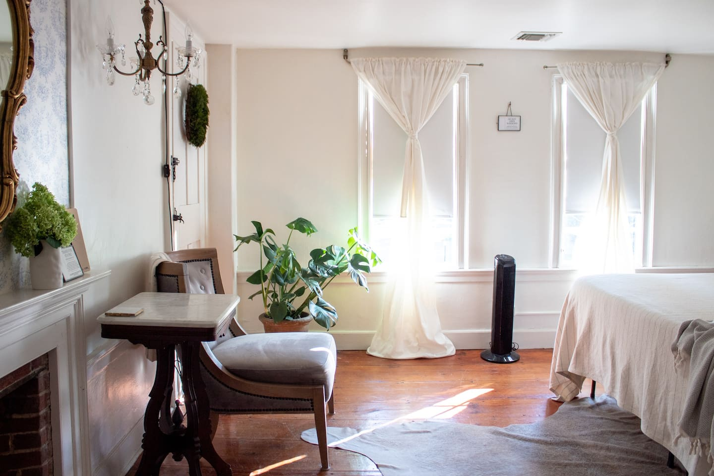 3 Room Eco Suite - three bedrooms and shared bathroom and second floor sitting room.