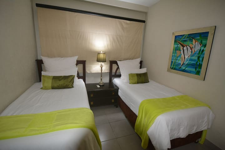 Stylish and comfortable 2nd bedroom