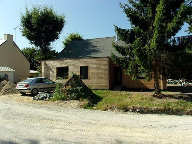 maison bois avec terrain - Herbignac - Casa