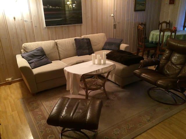 Kjellerleilighet i tomannsbolig - Lillehammer - Apartment