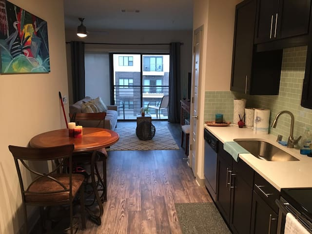 Huge studio apartment - Plano - Byt