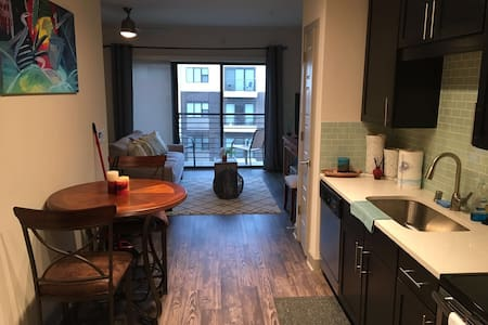 Huge studio apartment - Plano - Appartement
