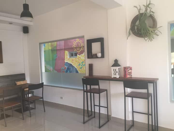 Artsy Urban Oasis Hotel in La Romana