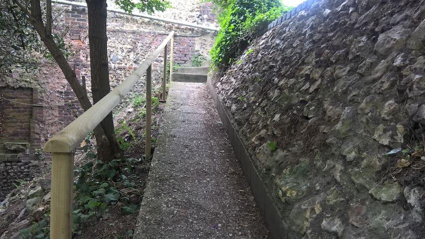 Même rampe (vue à la montée)