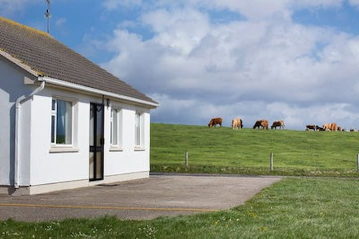 Oyster Bay House on Claggan Island, Belmullet