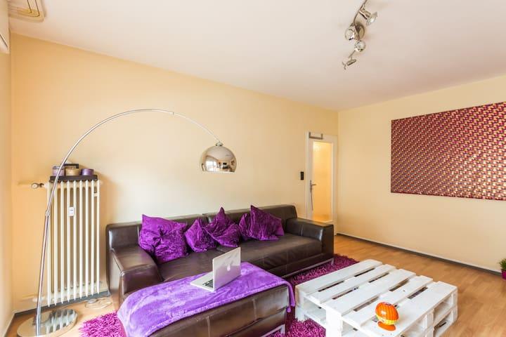 Private Room, 8 min away from Fair - Frankfurt - Wohnung