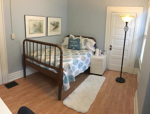 Cheerful Olde Town East Bedroom with a Desk!