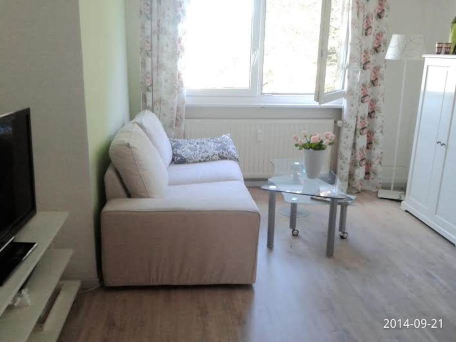 Quiet room with garden view