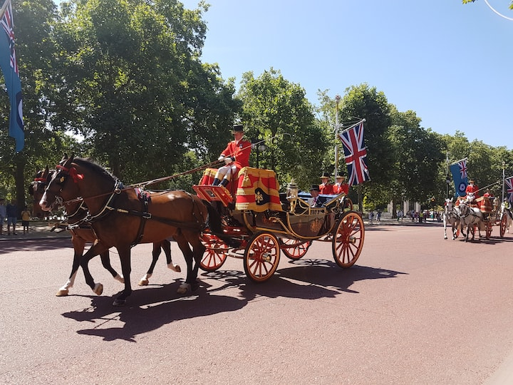 Royal Family in their Carriage