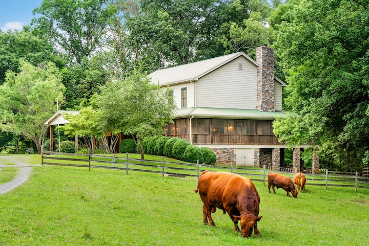 Fabulous Farmhouse near Clarksville, TN