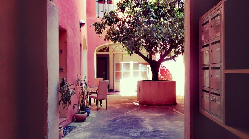 Studio/Pation Perpignan coeur de ville - Perpignan - Apartment