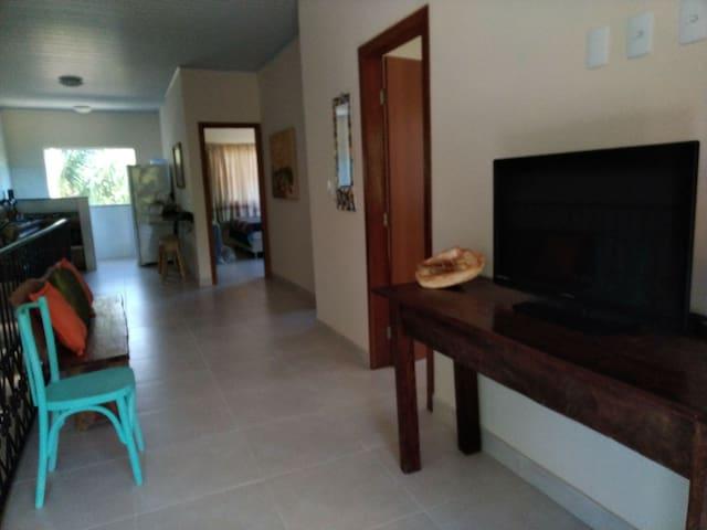 Lindo e confortável apartamento em Cumuruxatiba