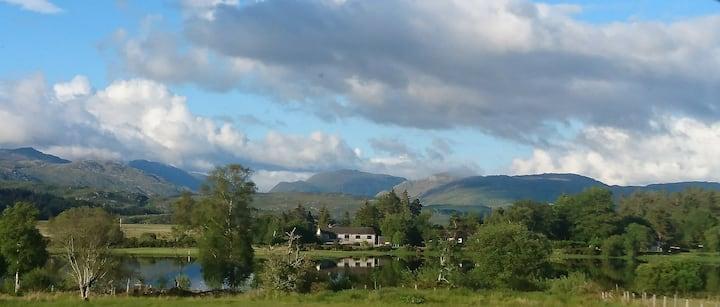 Lochside, Scottish Highlands, on scenic West Coast