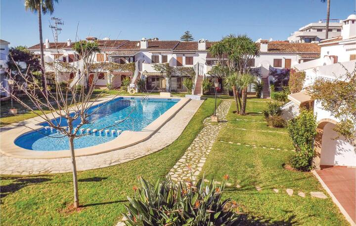 Beautiful home in Denia with 1 Bedrooms