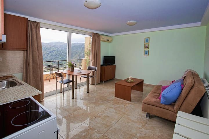 Villa Frati Gorge-Appartment with Pool View