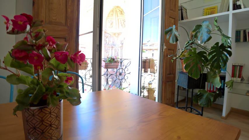 Estudio con mimo vistas a la concatedral
