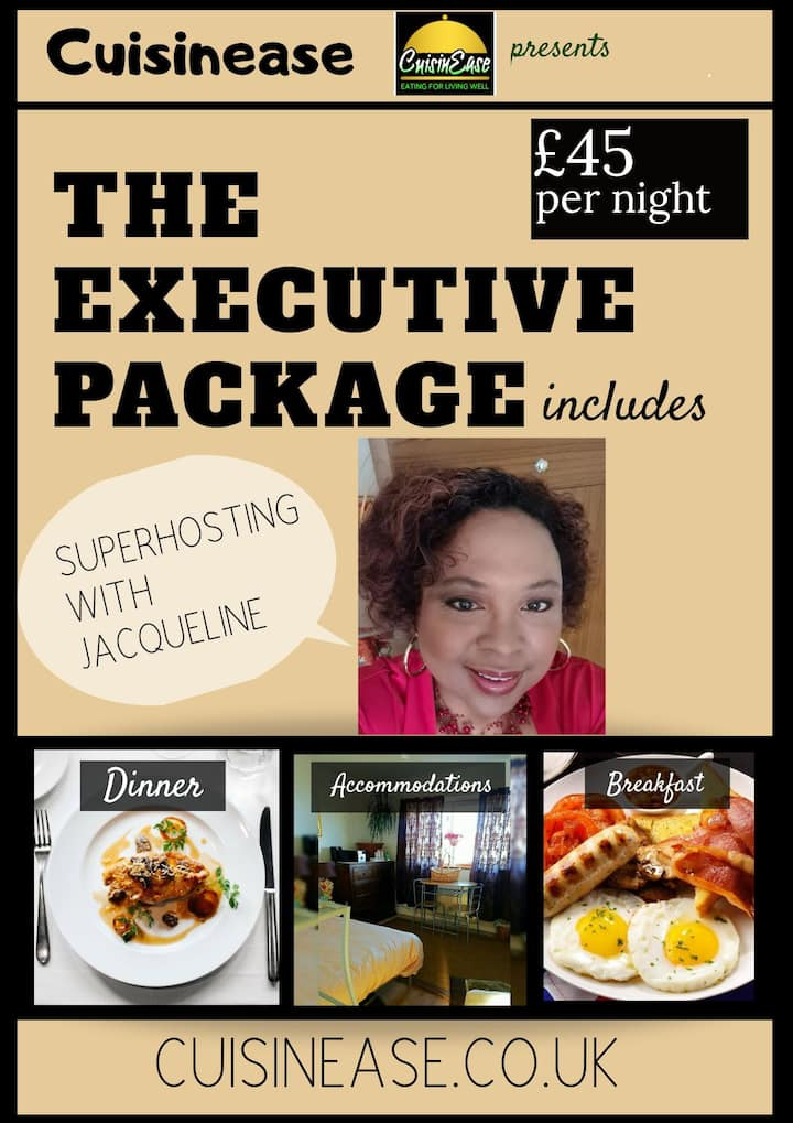 You will be pampered by your Superhost Jacqueline