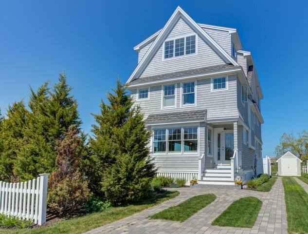 *New* Beach Home & Private Offices, Steps To Beach