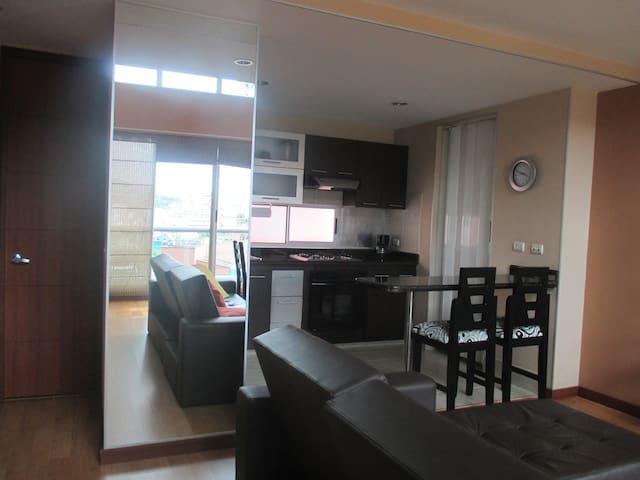 DUPLEX EXCLUSIVE FURNISHED APARTMENT WITH BALCONY