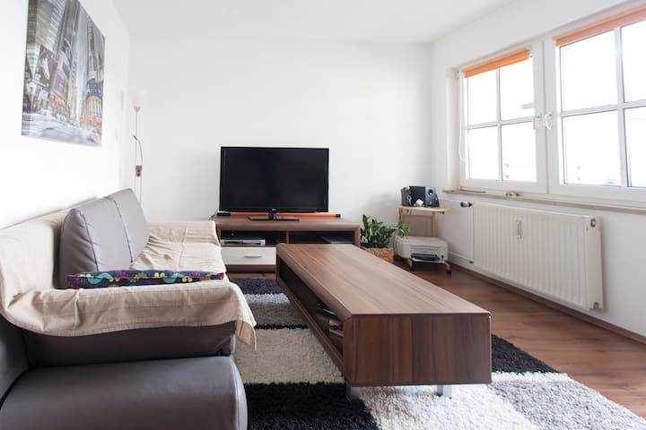 Gemütliche 2-Zimmerwohnung / cozy 2-room apartment - Nürnberg - Apartamento
