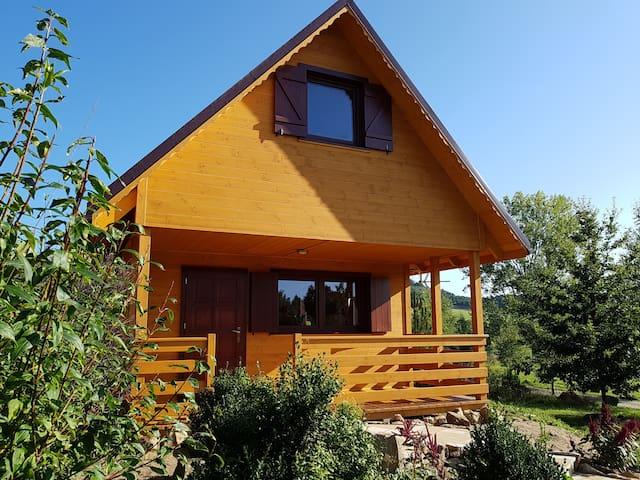 """Uroczy drewniany domek """"Skała"""" - Cosy cottage"""