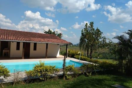 Romantismo e tranquilidade em Minas Gerais.