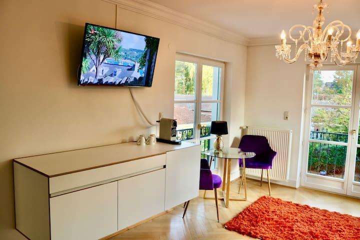 Villa am Steinhuder Meer-Studio,-Azur mit PantryKü