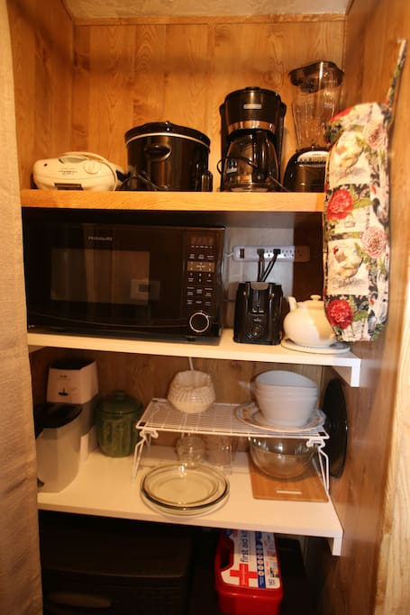 Loaded pantry