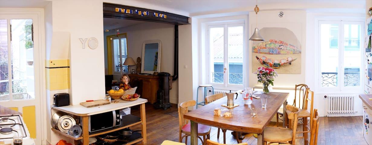 Belle chambre - sdb à deux pas de Paris