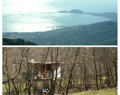 Treehouse near Rome and Neaples