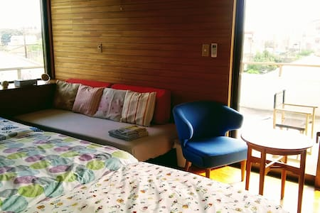 SIMMONS semi double beds☆Free bicycles☆Cozy house! - Ishigaki-shi - Guesthouse