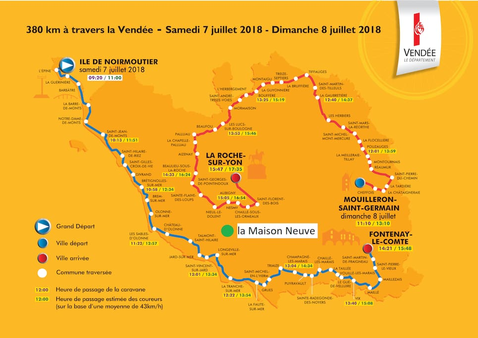 Tour de France en Vendée