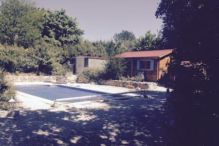 Maison provençale avec piscine et boulodrome - Garéoult - Casa