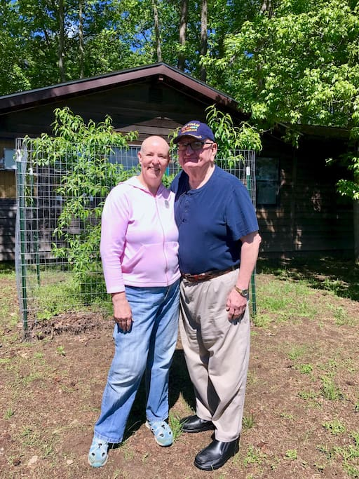 Your hosts John and Teresa Garland Married 48 years and still deeply in love.
