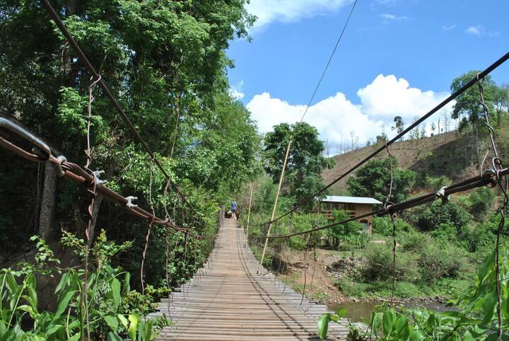 Sombat and Kerri's Elephant Village!