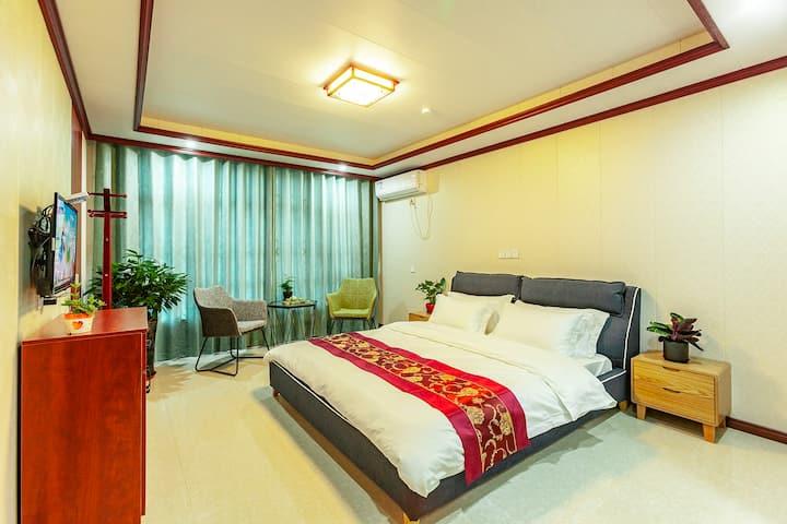 新房特惠¥西塘宿兮精品景观豪华大床房,代买门票可停车
