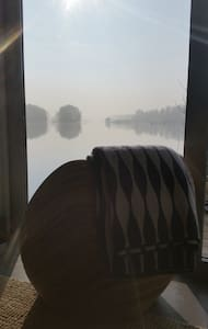 Direkt am Wasser im Bootshaus vom Landhaus Adlon - Potsdam