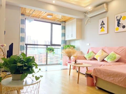 重庆綦江万盛区近奥陶纪黑山谷小清新北欧风全新装修两居室可住6人