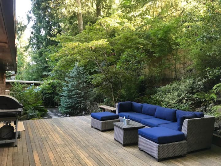 Forest Park is your Backyard in NW Portland Home