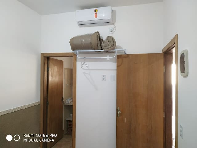 Suíte com ar condicionado Split
